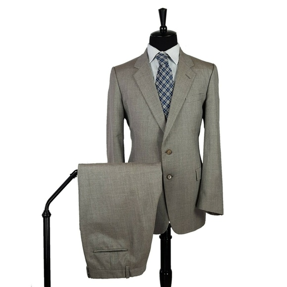 Dior Other - Christian Dior Gray Jacket Blazer Suit Flat Front